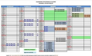 Fisi Alpi Centrali Calendario.Calendario Cuccioli Baby Valpalot Ski